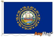 NEW HAMPSHIRE ANYFLAG RANGE - VARIOUS SIZES